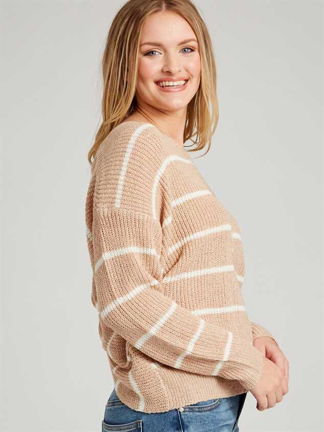 Mina Sweater - Striped Detail 2 - Altar'd State