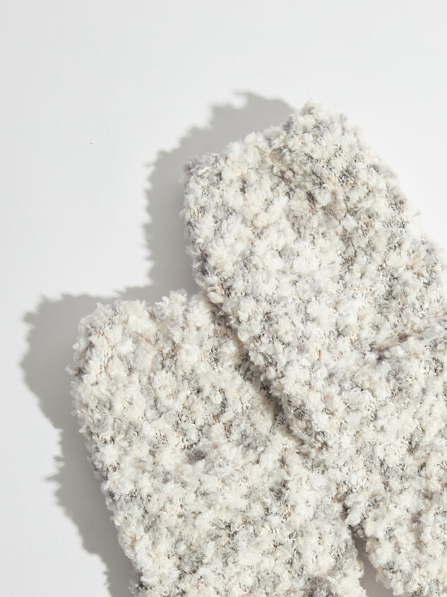 Marled Cozy Crew Socks Detail 2 - Altar'd State