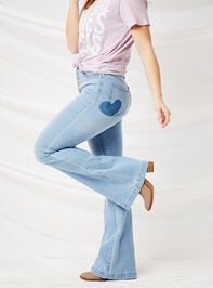 Crazy in Love Flare Jeans - Altar'd State