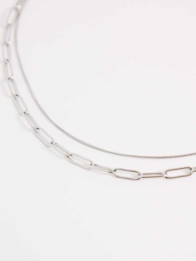 Sage Necklace - Silver Detail 2 - Altar'd State