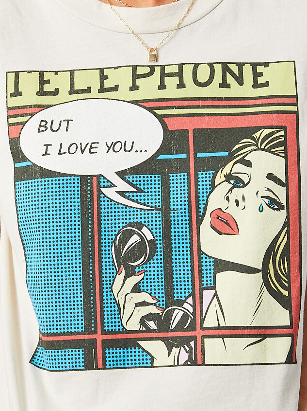 Telephone Tee Detail 4 - Altar'd State
