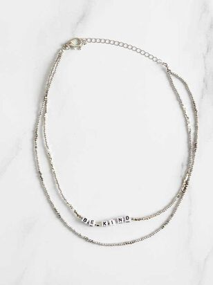 Kindness is Key Necklace - Altar'd State