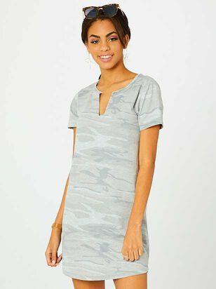 Camo T-Shirt Dress - Altar'd State