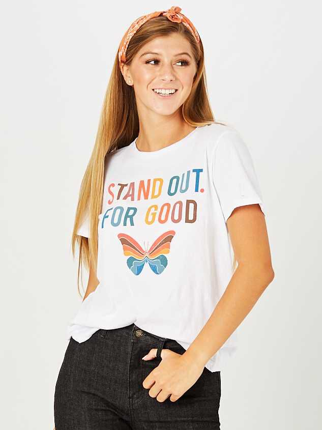 Stand Out For Good Top - Altar'd State
