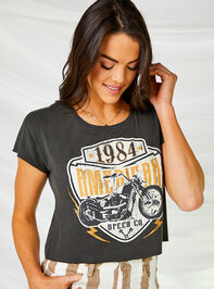 American Motorcycle Cropped Tee - Altar'd State