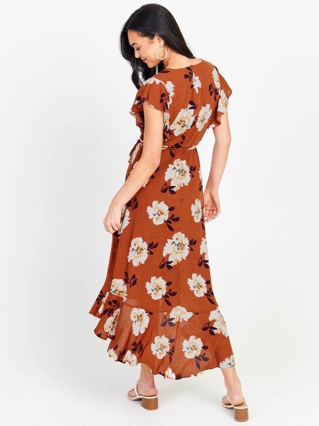 Florentina Floral Maxi Dress Detail 3 - Altar'd State