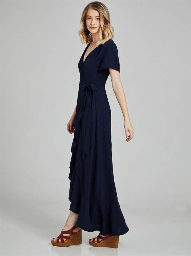 Springvale Maxi Dress Detail 2 - Altar'd State
