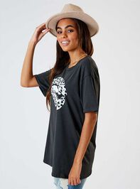 Dalmatian Lips Oversized Top Detail 2 - Altar'd State
