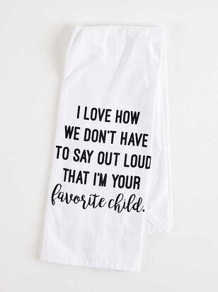 Favorite Child Hand Towel - Altar'd State