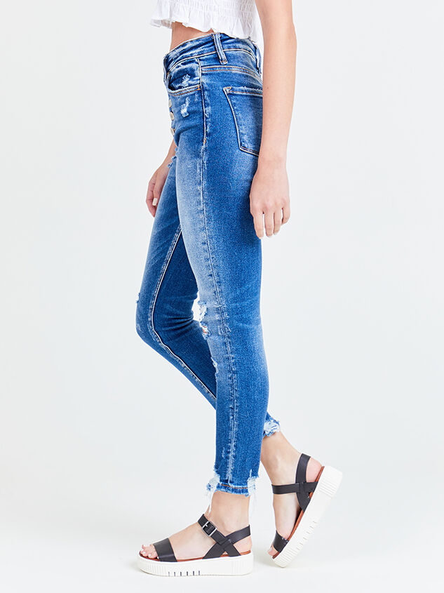 Haylie Skinny Jeans Detail 3 - Altar'd State