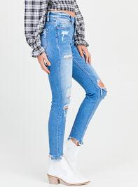 Kaylie Skinny Jeans Detail 3 - Altar'd State