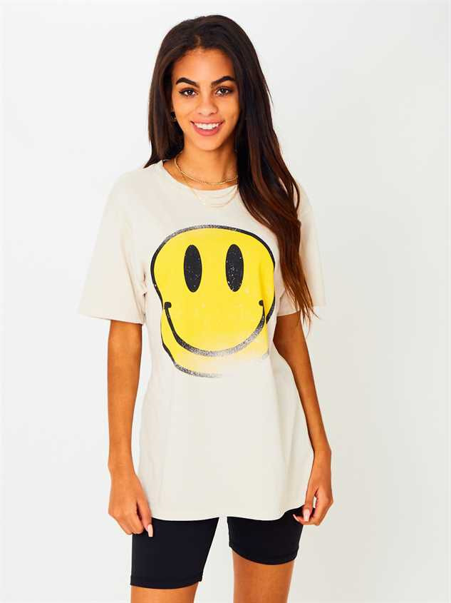 Smiley Face Top - Altar'd State
