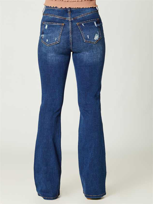 Elliana Flare Jeans Detail 4 - Altar'd State