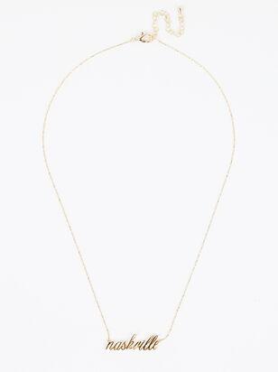 Nashville Love Necklace - Altar'd State