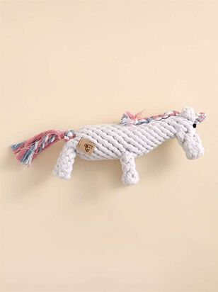 Unicorn Rope Dog Toy - Altar'd State