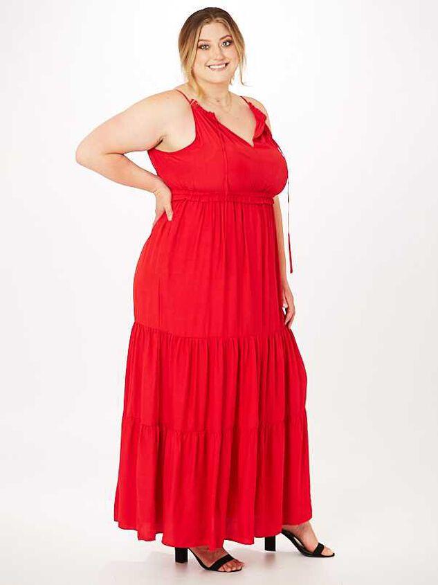 Serena Maxi Dress Detail 2 - Altar'd State