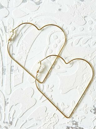 Vow'd Full Heart Hoops - Altar'd State