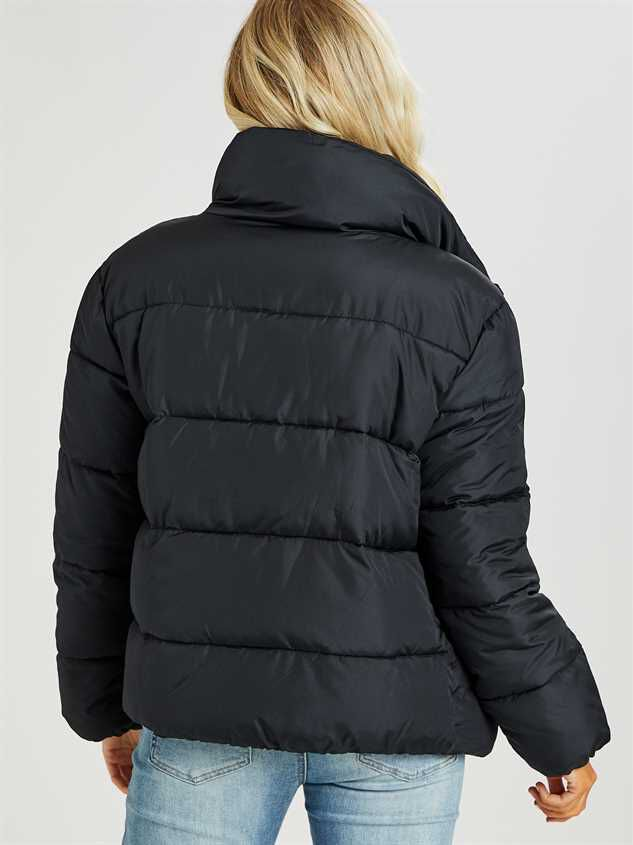 O-Ring Alpine Puffer Coat Detail 5 - Altar'd State