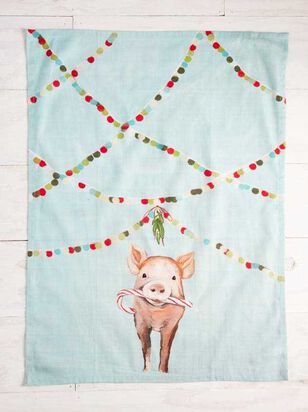Festive Pig Hand Towel - Altar'd State