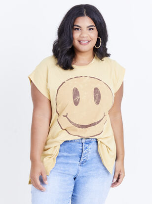 Happy Face Tee - Altar'd State