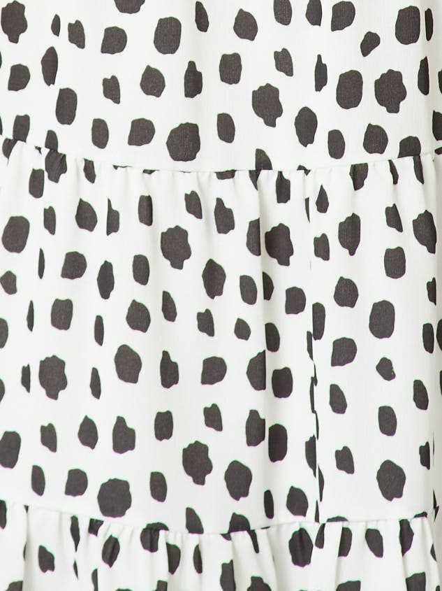 Dalmatian Tiered Dress Detail 4 - Altar'd State