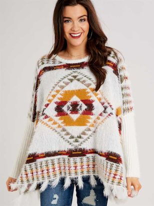 Lovely Lash Tribal Sweater - Altar'd State