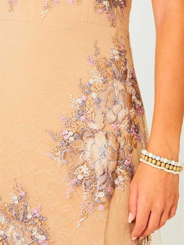Angelique Maxi Dress Detail 4 - Altar'd State