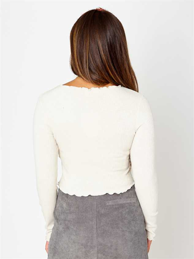Chanel Long Sleeve Top Detail 3 - Altar'd State