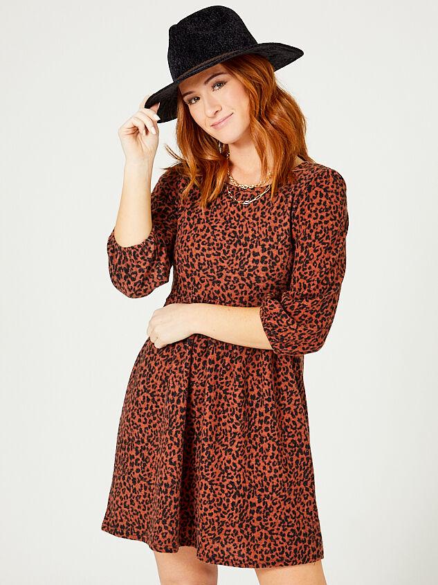 Eleanor Leopard Dress - Altar'd State