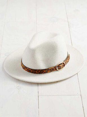Leopard Belted Hat - Altar'd State