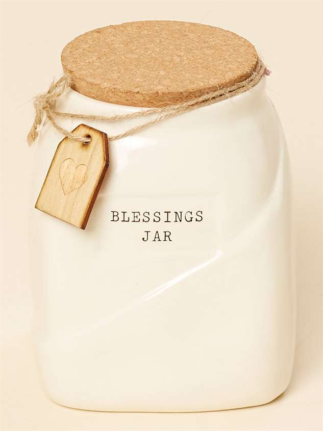 Ceramic Blessings Jar - Altar'd State