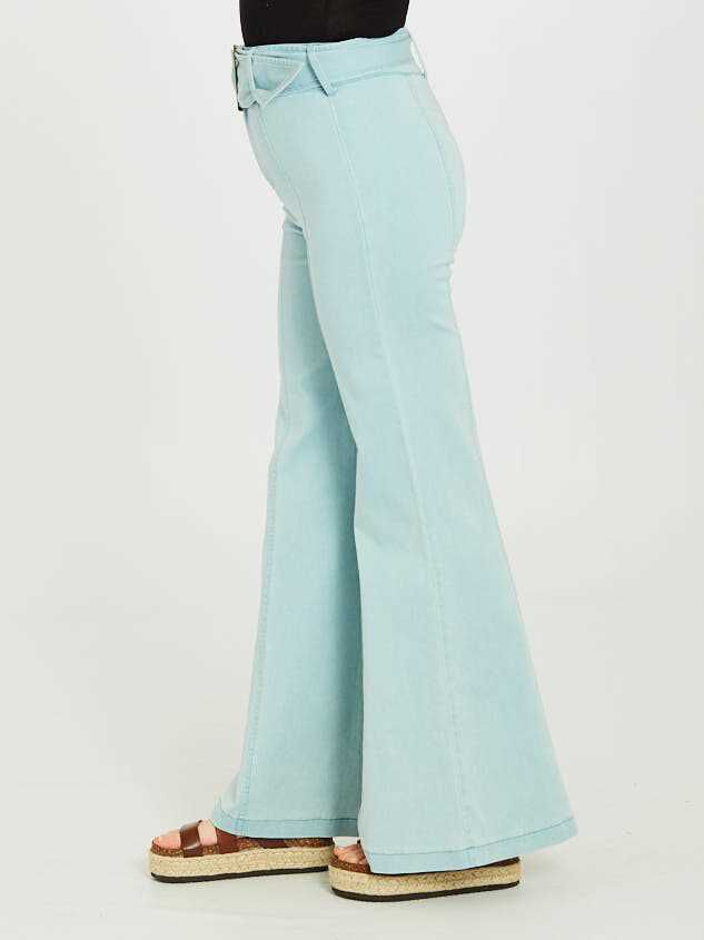 Dionne Flare Pants Detail 3 - Altar'd State