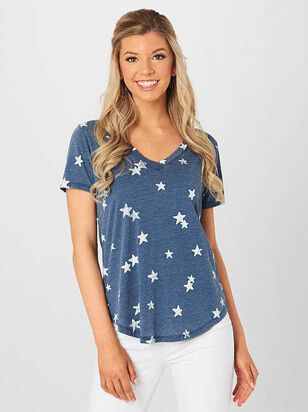 The Star Print Tee - Altar'd State