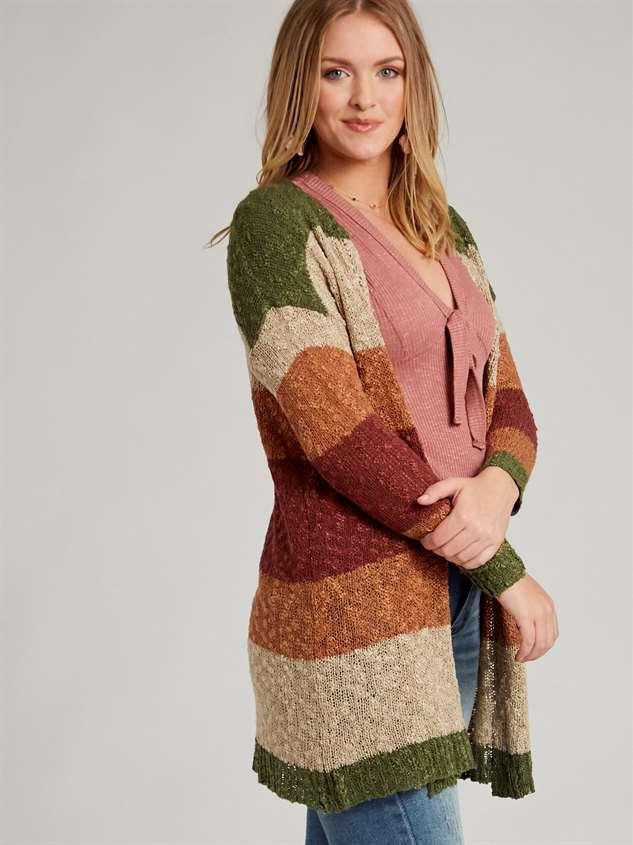 Tori Cardigan Sweater Detail 3 - Altar'd State