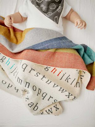Tullabee Say My ABCs Blanket - Altar'd State