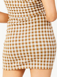 Get a Clue Skirt Detail 3 - Altar'd State