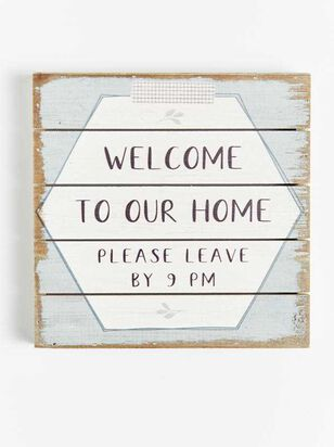 Welcome to Our Home Pallet Sign - Altar'd State