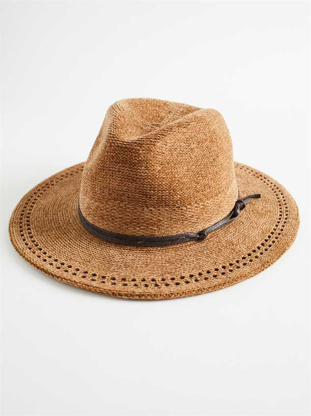 Collen Chenille Hat Detail 2 - Altar'd State
