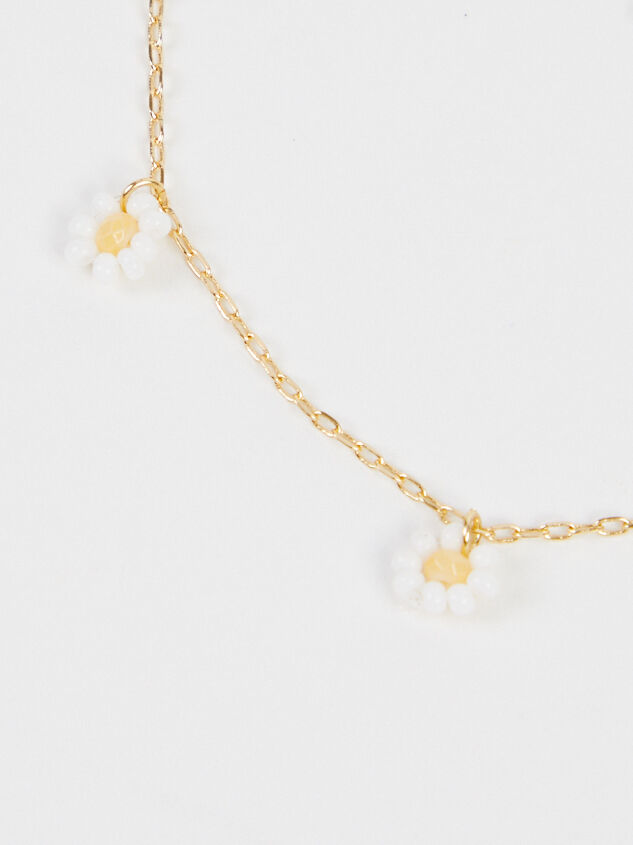 Daisy Dangle Anklet Detail 3 - Altar'd State
