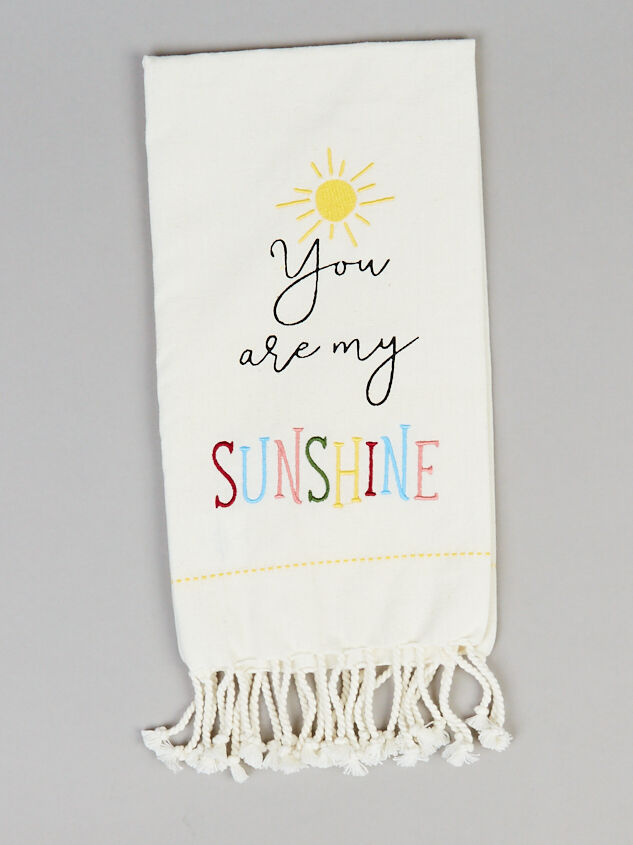 My Sunshine Hand Towel - Altar'd State