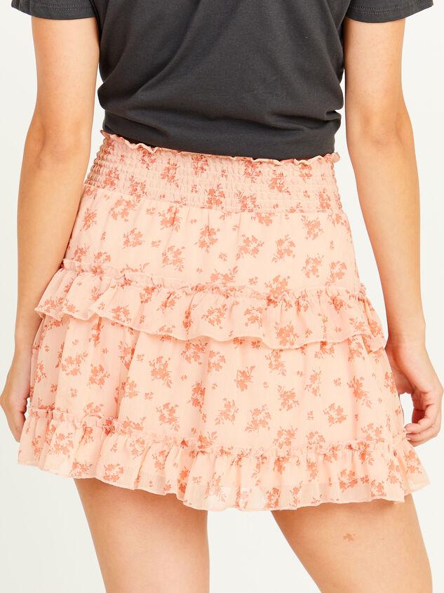 Peachy Skirt Detail 2 - Altar'd State