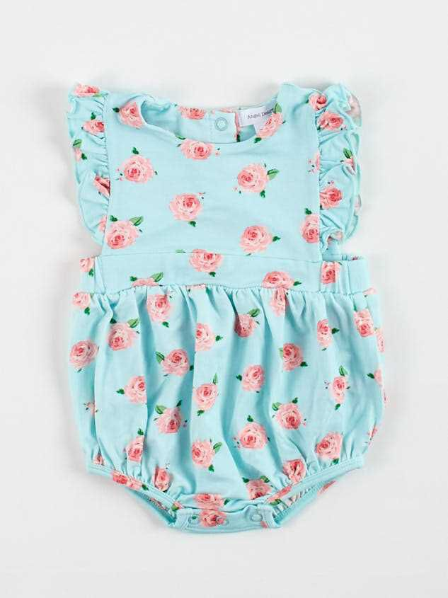 Tullabee Rose Ruffle Sunsuit - Altar'd State