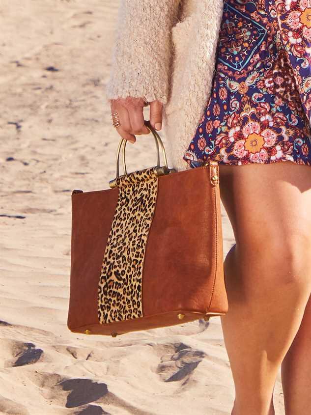 Lula Leopard Handbag Detail 5 - Altar'd State