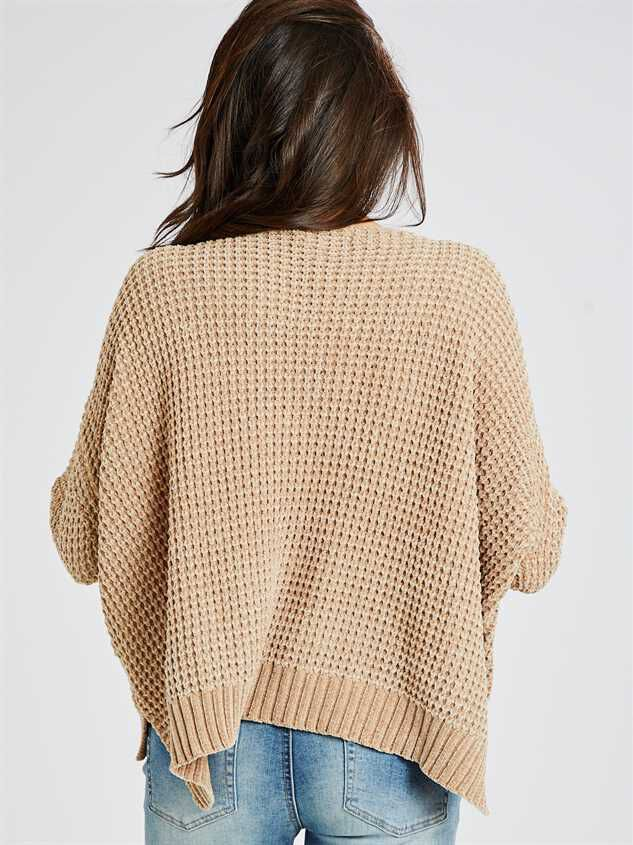 Eversoft Chenille Dolman Sweater Detail 3 - Altar'd State