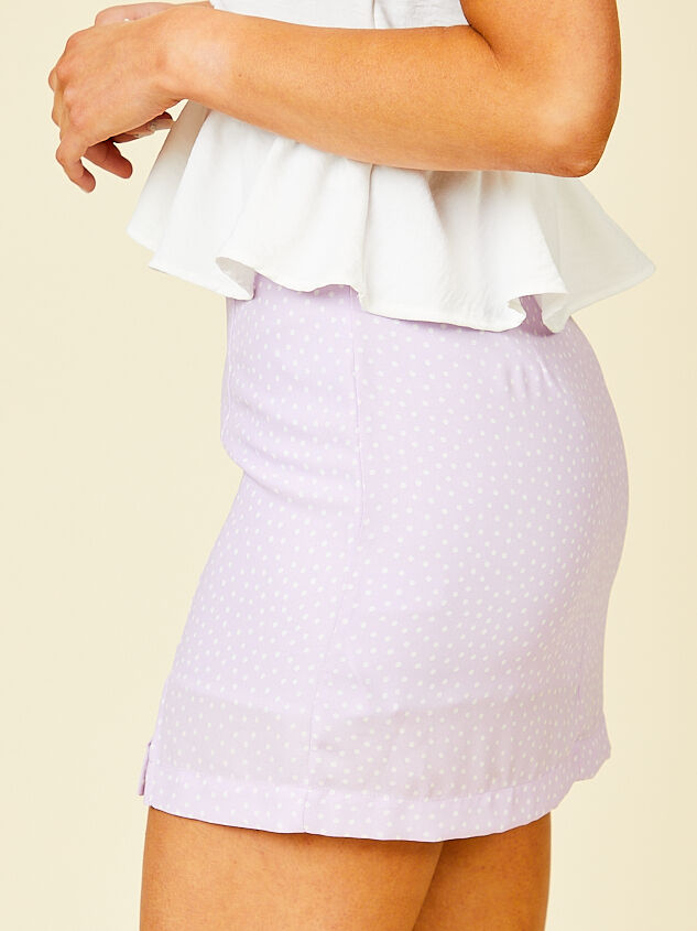 Martha Mini Skirt Detail 3 - Altar'd State
