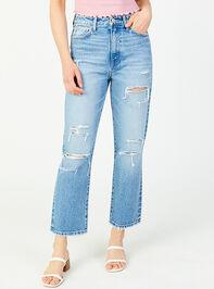 Kate Straight Leg Jeans Detail 2 - Altar'd State