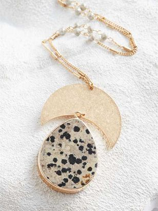 Dalmation Crescent Necklace - Altar'd State