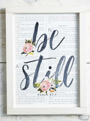 Be Still Wall Art - Altar'd State