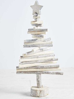 Stacked Wooden Branch Tree - Altar'd State
