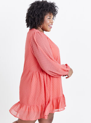 Dusty Dress - Coral - Altar'd State